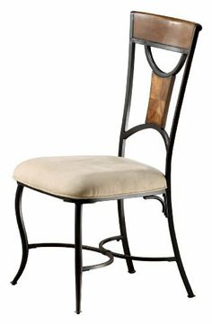 Hillsdale Pacifico Dining Side Chair, Black with Coppered Highlights and Honey Maple, Set of 2 by Hillsdale Furniture. $205.25. Design is stylish and innovative; satisfaction ensured. Assembly required. Black with copper highlights & honey maple finish. Dust frequently using a clean, specially treated dusting cloth that will attract and hold dust particles. Do not use wax or abrasive cleaners as they may damage the finish. Black metal with copper highlights mix ...
