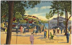 Amusement Park at Harvey's Lake, Pennsylvania | Flickr - Photo Sharing!