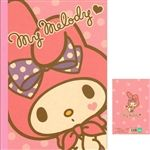 Sanrio Japan My Melody A5 Ruled Notebook