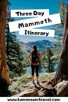 Filled with hiking, swimming, kayaking, paddle boarding, and more, three days in Mammoth Lakes makes for a fantastic getaway. Although Mammoth's peak season is during the wintertime, there are a ton of activities during the summertime, especially in July. It should be part of any California Road Trip. #mammothlakes #hikingtrails #outdoorrecreation #monocounty #californiaroadtrip #californialocatons #californiavacation Mammoth Lakes California, California Mountains, Travel Usa, Travel Tips, Travel Guides, California Vacation, Weekend Trips, Weekend Getaways, Roadtrip