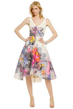 Lela Rose Don't Mind If I Do Dress