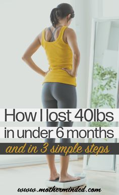 How I lost in 3 Steps Learn exactly what I did that achieved 40 pounds of weight loss in a little less than 6 months. And there were only 3 steps involved. Quick Weight Loss Tips, Losing Weight Tips, Weight Loss Plans, Weight Loss Transformation, Best Weight Loss, Healthy Weight Loss, Weight Gain, Lost Weight, Lose Weight In A Week