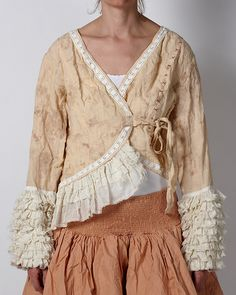Ewa i Walla  - 66160 - Jacket It's like a Raggedy Anne Way of dressing.  Love it.