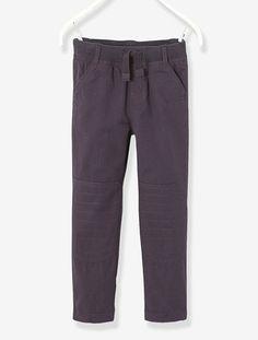 Pantalón contorno de caderas DELGADO niño GRIS OSCURO+ROJO OSCURO+VERDE GRISÁCEO