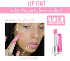 Makeup Multitasker! Kill two makeup needs with one product!