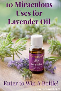 10 Miraculous Uses for Lavender Oil and enter to win a bottle!- www.cocoswell.com.jpg