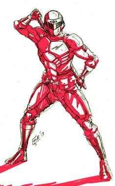 Power Rangers Comic, Power Rangers Megazord, Powe Rangers, Combat Gear, Drawing Techniques, Kamen Rider, Drawing Reference, Apocalypse, Fantasy Art