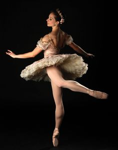 """Ballet West principal Katherine Lawrence in """"The Sleeping Beauty"""" (photo by Ryan Galbrath)"""