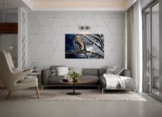 Certainly, everyone will need Amazing Home design to decorate their Home. If you would, you may check Terrific Ideas For Minimalist Living Room Designs With White Color and Wooden Accent Decor to help you find out Amazing Home based on your favorite. House Design, Accent Walls In Living Room, Room Decor, Accent Wall Designs, Living Room Wall, Colourful Living Room Decor, Living Room Ornaments, Minimalist Living Room Design, Dining Room Accents