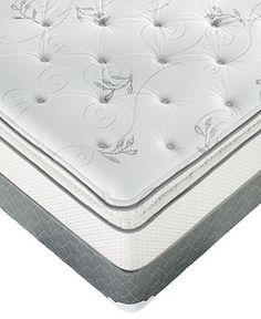 Macybed Queen Mattress Set, Grand Plush Super Pillowtop - Queen Mattresses - mattresses - Macy's