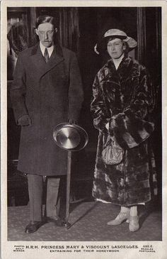Princess Mary and Lord Lascelles (Lord Harewood)