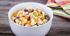 Abnehmen Salat von Mini-Pasta mit Crudités: www. Summer Pasta Salad, Easy Pasta Salad, Lobster Stew, Make Ahead Salads, Cilantro Pesto, Slow Cooked Chicken, Cuisine Diverse, Ribs On Grill, Fast Food