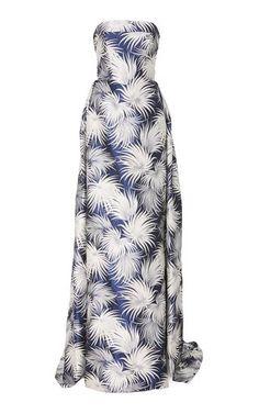 Strapless Gown by Naeem Khan Resort 2019