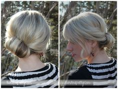 Topsy Tail Revisited- Chignon