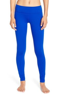 0c00bafed2216 Zella 'Live In' Leggings available at #Nordstrom Zella Live In Leggings,  Blue