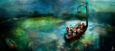 Fairytale-Like Illustrations By Swedish Artist Alexander Jansson   Bored Panda