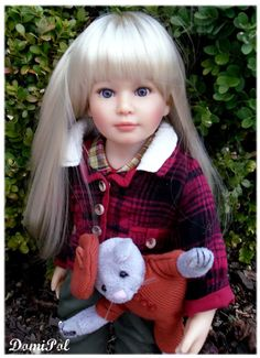 Such a beautiful Kidz N' Cats doll! Domipol collections et passions