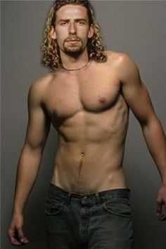 #13 Things You Never Want To See in Your Life: the guy from Nickelback sans shirt. Look at this photograph, every time I do it makes me throw up in my mouth.