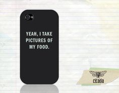 Funny iPhone Case  Food Pics iPhone 4 Case iPhone by StudioCicada, $15.99
