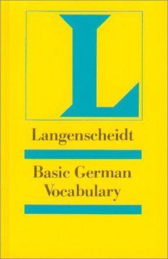 Langenscheidt Grundwortschatz Deutsch - Basic German Vocabulary: Deutsch-Englisch (Langenscheidt Reference) von Heiko Bock http://www.amazon.de/dp/3468494009/ref=cm_sw_r_pi_dp_xJh5ub1RF5RCY
