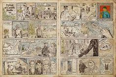 A comic about Vincent Van Gogh.