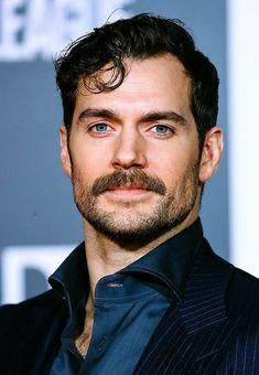 shouldn't we have a league of our own? Mustache Styles, Mustache Men, Moustache, Superman Cavill, Henry Superman, Henry Cavill Beard, Henry Cavill Tumblr, Awesome Beards, Fine Men
