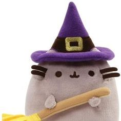 Pusheen – ToyRoo - Magical World of Toys! Bear Toy, Teddy Bear, Grey Tabby Cats, Halloween Cat, Pusheen, Plush Dolls, Cat Lovers, Witch, Toys