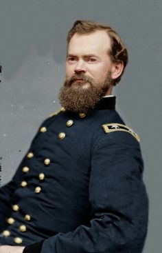 James McPherson, prodigy of General W.T. Sherman. The loss of him during the Atlanta Campaign really hurt. Much like the untimely death of Reynolds at Gettysburg.