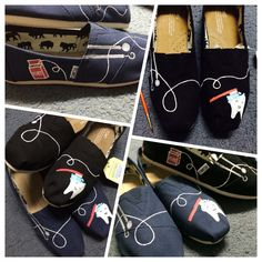 Dentist Toms by KaySoles on Etsy