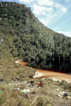 Lake Rosanne, Western Arthurs, SW Tasmania, December, 1969. Afternoon Tea, December, Westerns, Tasmania, Western, December Daily