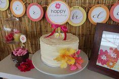 Most recent Photographs Hawaiian Luau Birthday Party Ideas Cl Birthday, 18th Birthday Party Themes, Fall Birthday Parties, Birthday Party Tables, Kids Party Themes, Summer Birthday, Party Ideas, 30th Party, Birthday Cakes