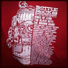 BottleRock Napa Valley 2013 T-Shirt