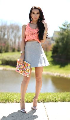 Spring Florals +Target Video Outfit | the Fashion Bybel