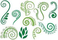 Koru Maori Vector - Get Free Vector Art, Inventory Graphics & Images Koru Tattoo, Ta Moko Tattoo, Maori Designs, Small Tattoo Designs, Baby Name Tattoos, Tattoos With Kids Names, Son Tattoos, Family Tattoos, Arrow Tattoos