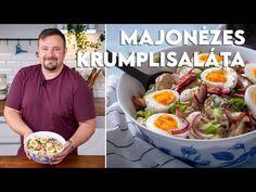 Stresszmentes főzés: Majonézes krumplisaláta | Mindmegette.hu - YouTube Potato Salad, Potatoes, Chicken, Meat, Ethnic Recipes, Food, Potato, Hoods, Meals