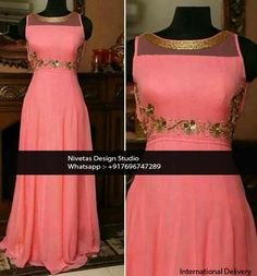 #Anarkali - whatsapp +917696747289 International Delivery  visit us at https://www.facebook.com/punjabisboutique  We do custom suits to match your requirements. We can work together to create stunning Indian outfits especially to match wedding colors, dazzle for a party or any other special occassions. I will create a custom order for you based on your requirements. #Punjabisalwarsuits, #lehengas, #replicaoutfits, #sareesblouses , #bridalwearsuits, #patialasalwarsuits, #anarkalissuits et...