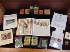 A photo from Martin Library of the Science's exhibit featuring the Helen D. and William E. Krantz '37 Miniature Book Collection.