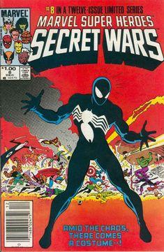 Marvel Super-Heroes Secret Wars n°8, December 1984, cover by Mike Zeck and John Beatty
