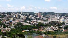 Pato Branco PR - 27-10-2014 - Foto tirada do alto do bairro Fraron