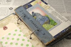 I absolutely love my vintage books. This is one of my favourites so far. Journal Paper, Book Journal, Art Journals, Bullet Journal, Diy Altered Books, Altered Art, Vintage Ephemera, Vintage Books, Vintage Journals