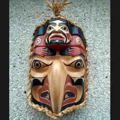 Tlingit Eagle Woman Mask