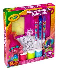 This Trolls Paint Kit by DreamWorks Trolls is perfect! #zulilyfinds