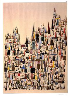 """Il Duomo-Cathedral"" (via Rob Dunlavey @ drawger - Jerome Snyder (CREATION #12))"