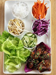 353 best easy dinner recipes images on pinterest cooking recipes 16 fresh and delicious lettuce wraps forumfinder Choice Image