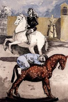 Ride a Cock Horse by Paula Rego : Official Site: Leading independent contemporary art gallery. Buy quality fine art securely on-line, at home or from our Devon based gallery Paula Rego Art, Horse Illustration, Galleries In London, Buy Art Online, Gustav Klimt, Fine Art, Nursery Rhymes, Mythical Creatures, Figure Painting