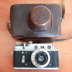 ZORKI 2C 1957 Vintage Classic Russian Leica Camera , Industar 50mm Lens