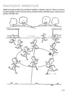 Předčtenářské dovednosti - pravolevá orientace