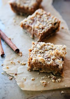 Pumpkin Pie Bars--I will have to tweak this a bit (reduce the sugar,  get rid of the wheat flour) but doesn't it sound just smashing?