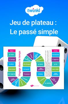 France, Jouer, Chart, Education, Unique, Printable Bookmarks, Learn French, Board Games, Grammar