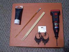 How to make hair sticks